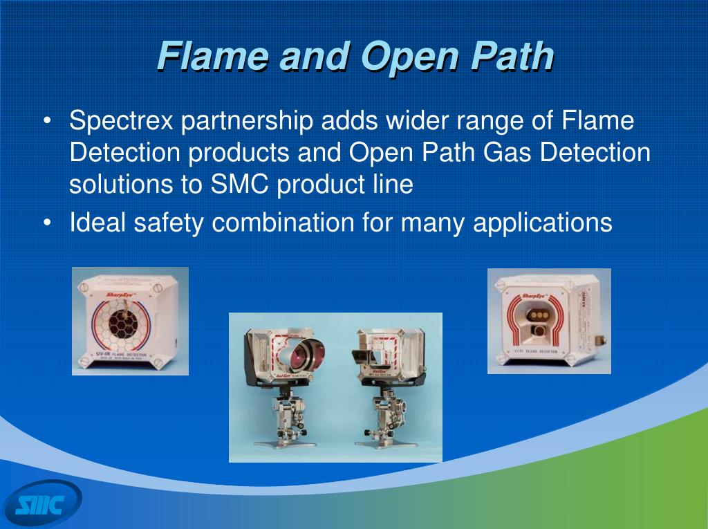 Flame and Open Path