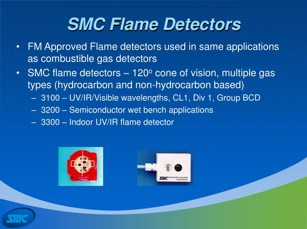 SMC Flame Detectors