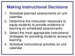 making instructional decisions19