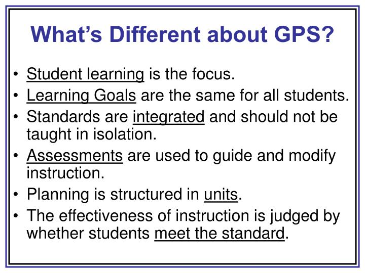 What s different about gps l.jpg