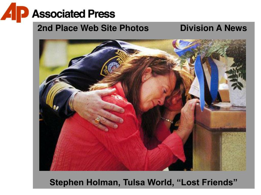 2nd Place Web Site Photos             Division A News