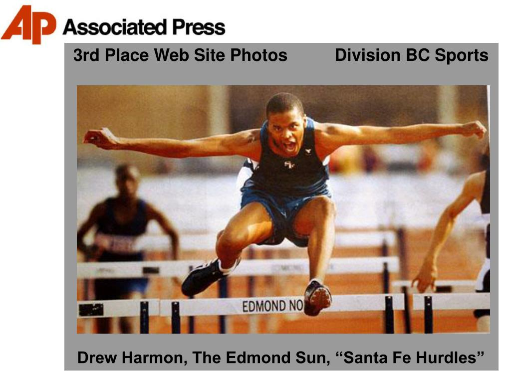 3rd Place Web Site Photos          Division BC Sports