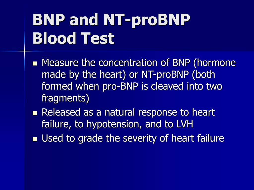 BNP and NT-proBNP Blood Test