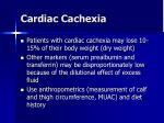 cardiac cachexia28