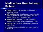 medications used in heart failure