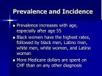 prevalence and incidence7