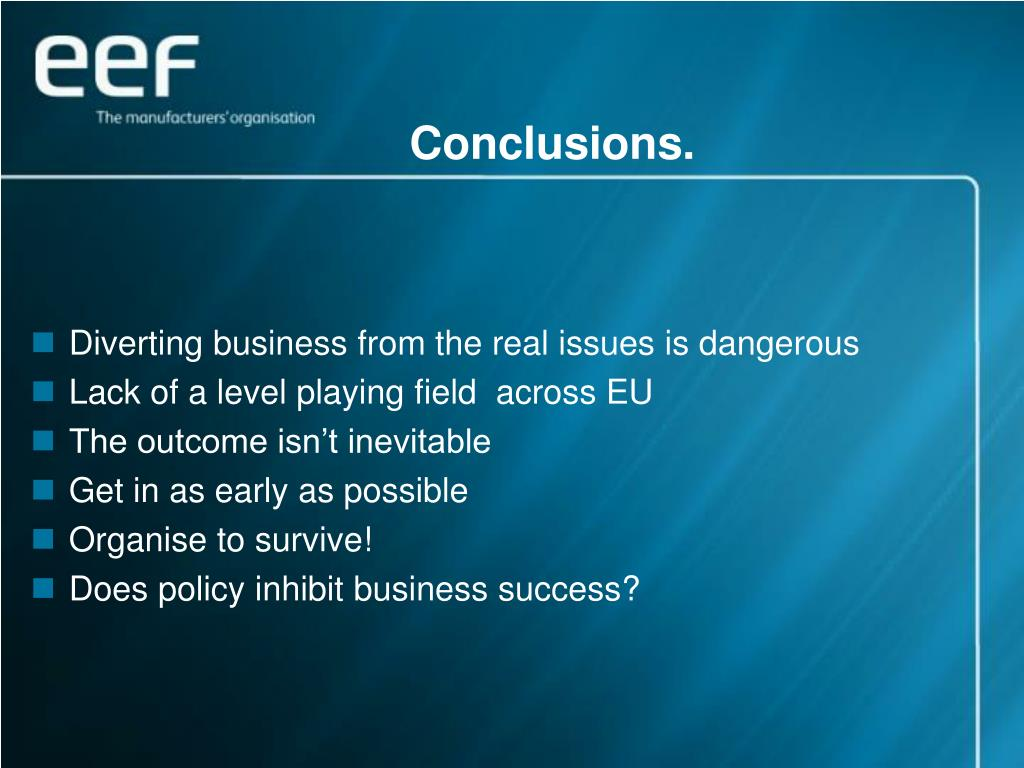 conclusions european business environment 2988th council meeting environment brussels or for non-business purposes in general the council adopted conclusions on the european case-law identifier.