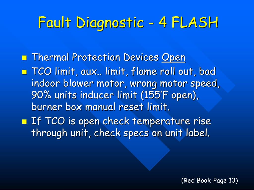 Fault Diagnostic - 4 FLASH