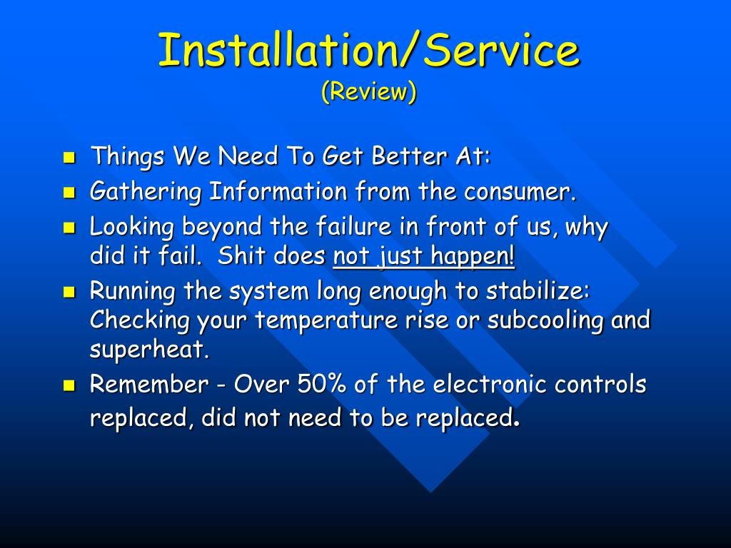 Installation/Service