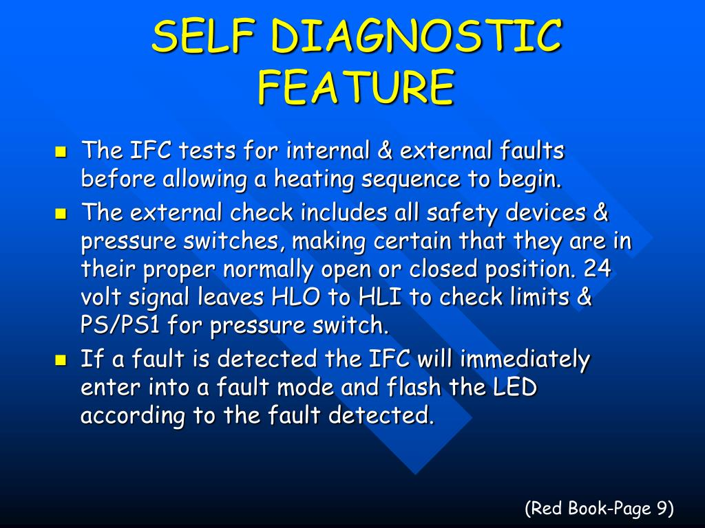 SELF DIAGNOSTIC FEATURE