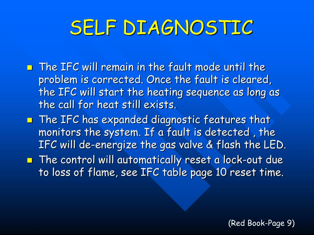 SELF DIAGNOSTIC