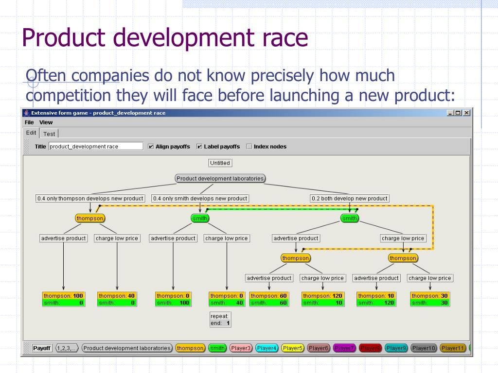 Product development race