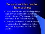 personal vehicles used on state business6