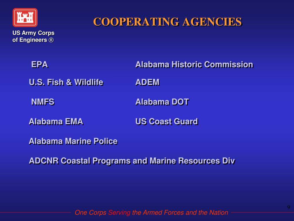 COOPERATING AGENCIES