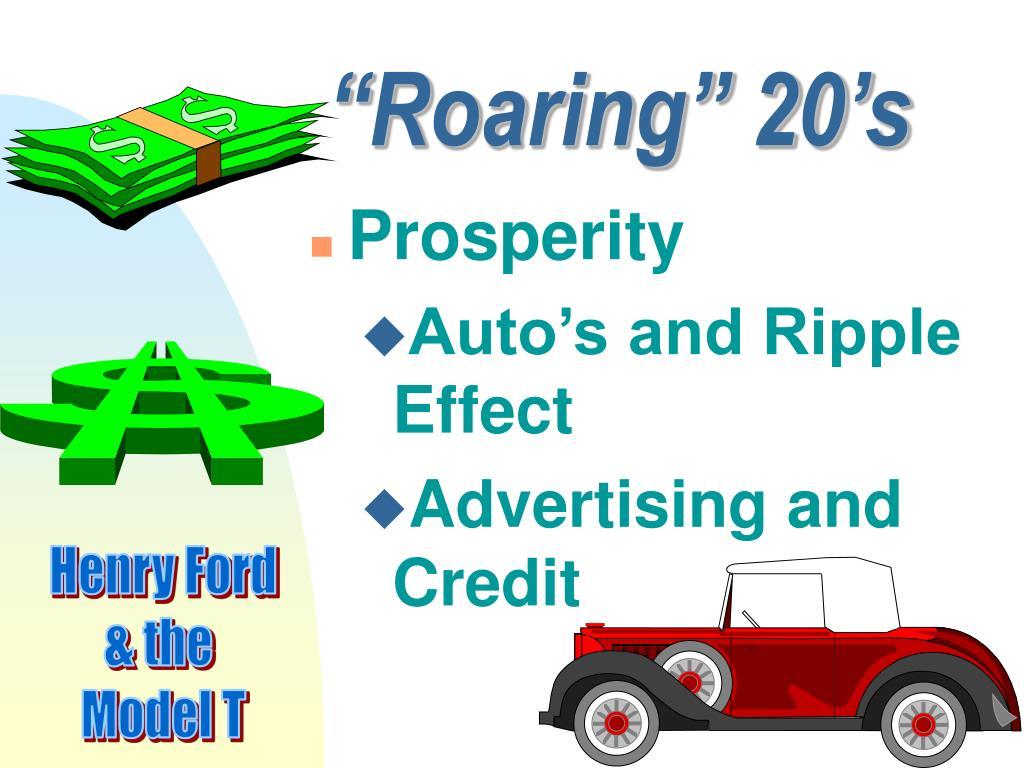 """Roaring"" 20's"