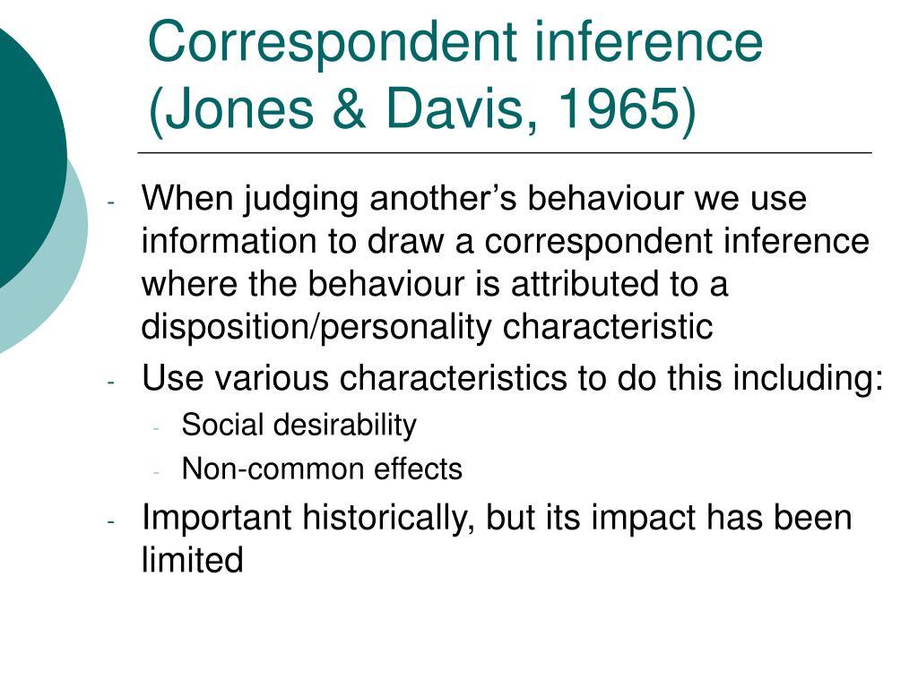 Correspondent inference