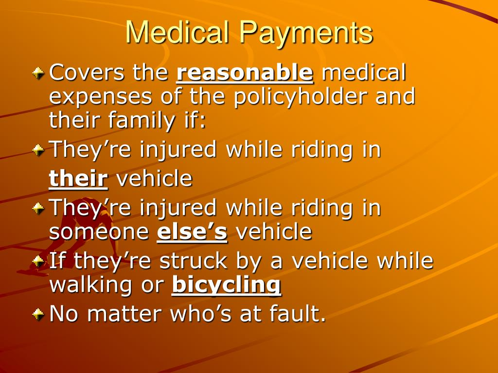 Medical Payments