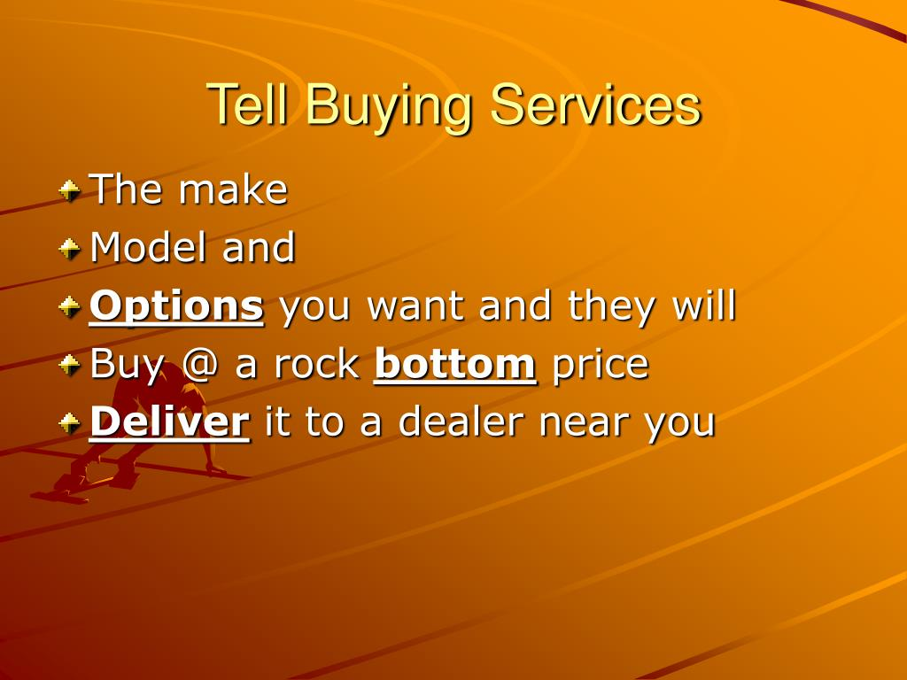 Tell Buying Services