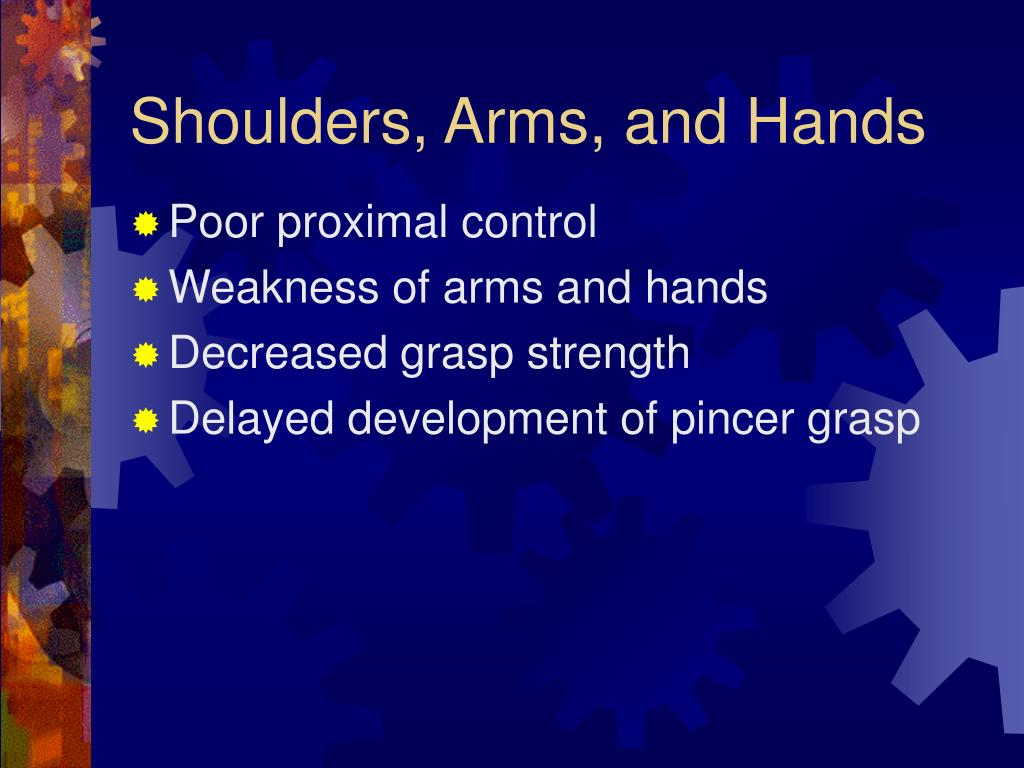 Shoulders, Arms, and Hands