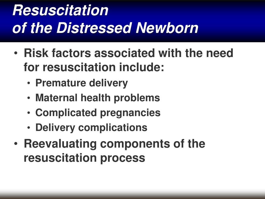 PPT - Neonatal Emergen...