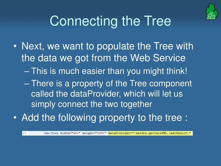 Connecting the Tree