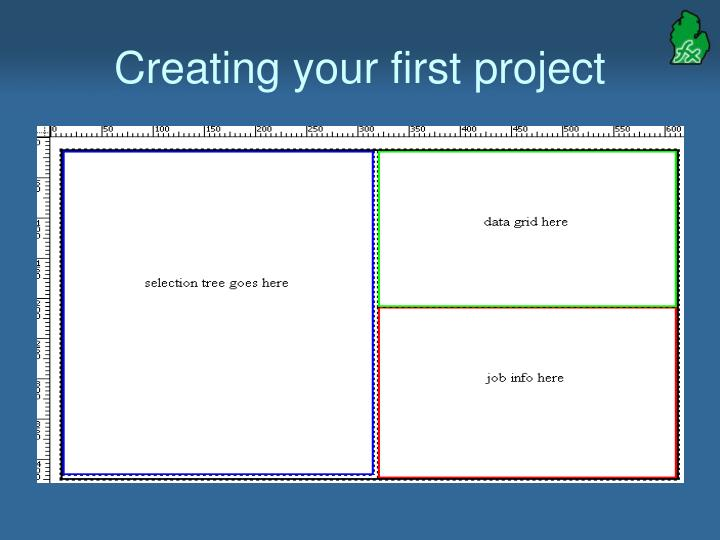 Creating your first project