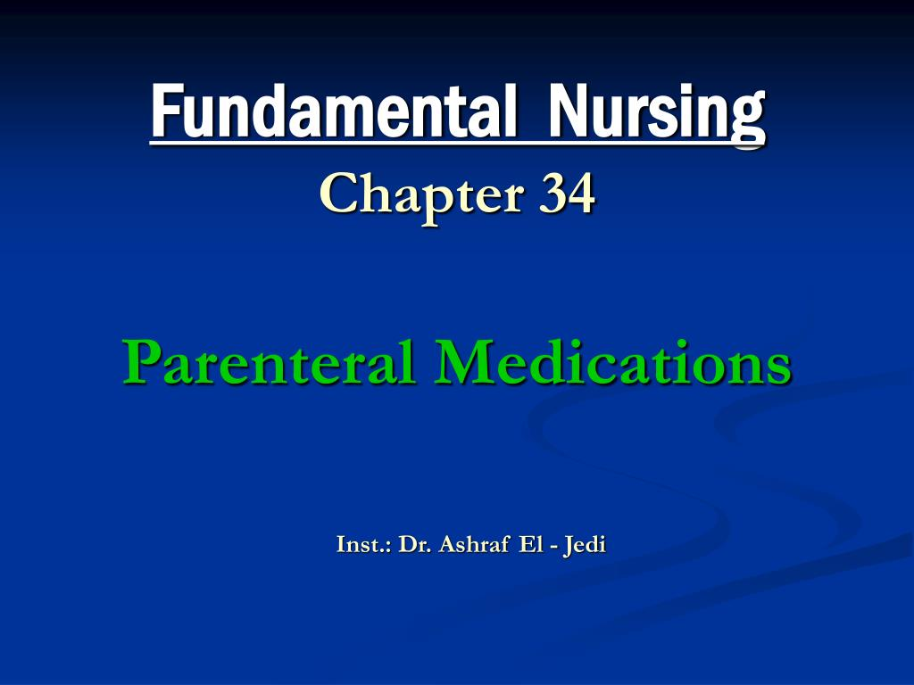 Fundamental  Nursing