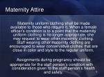 maternity attire