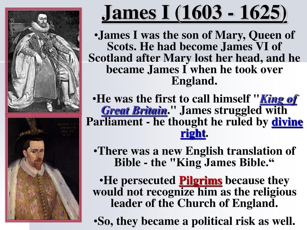 James I (1603 - 1625)