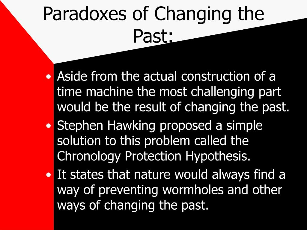 Paradoxes of Changing the Past: