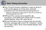 slice timing correction