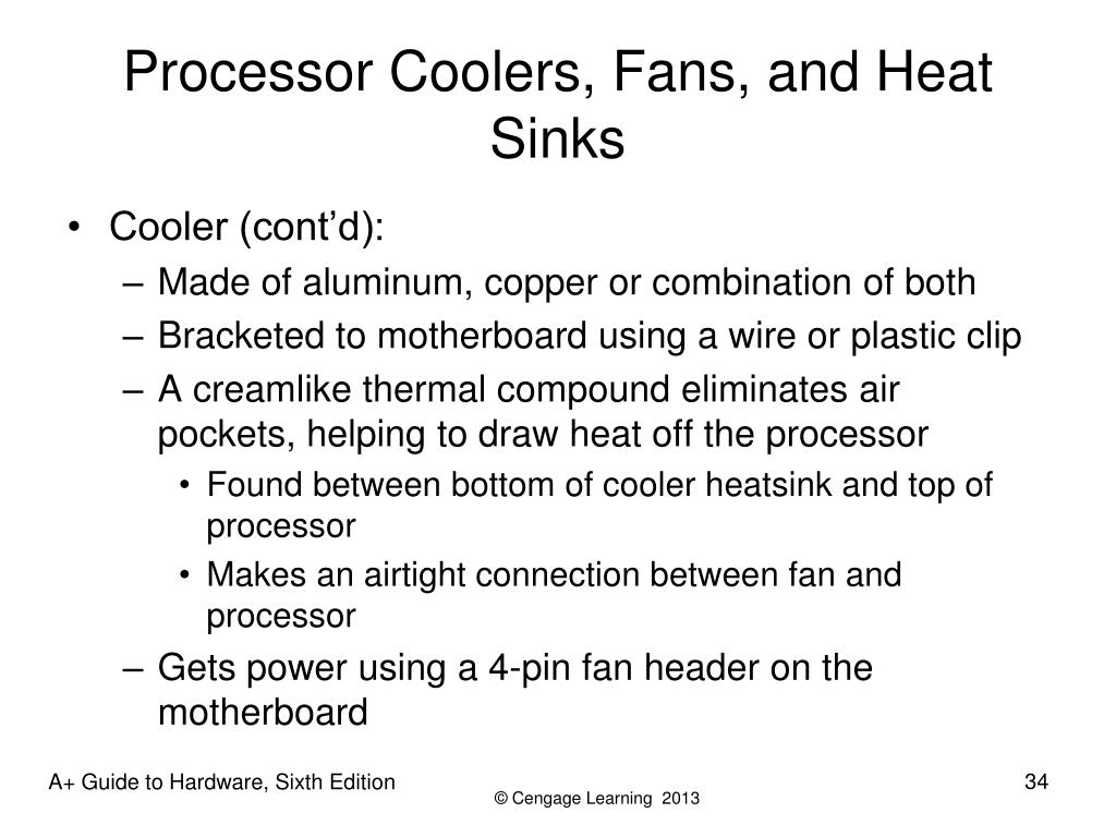 Processor Coolers, Fans, and Heat Sinks
