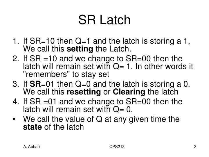 Sr latch3