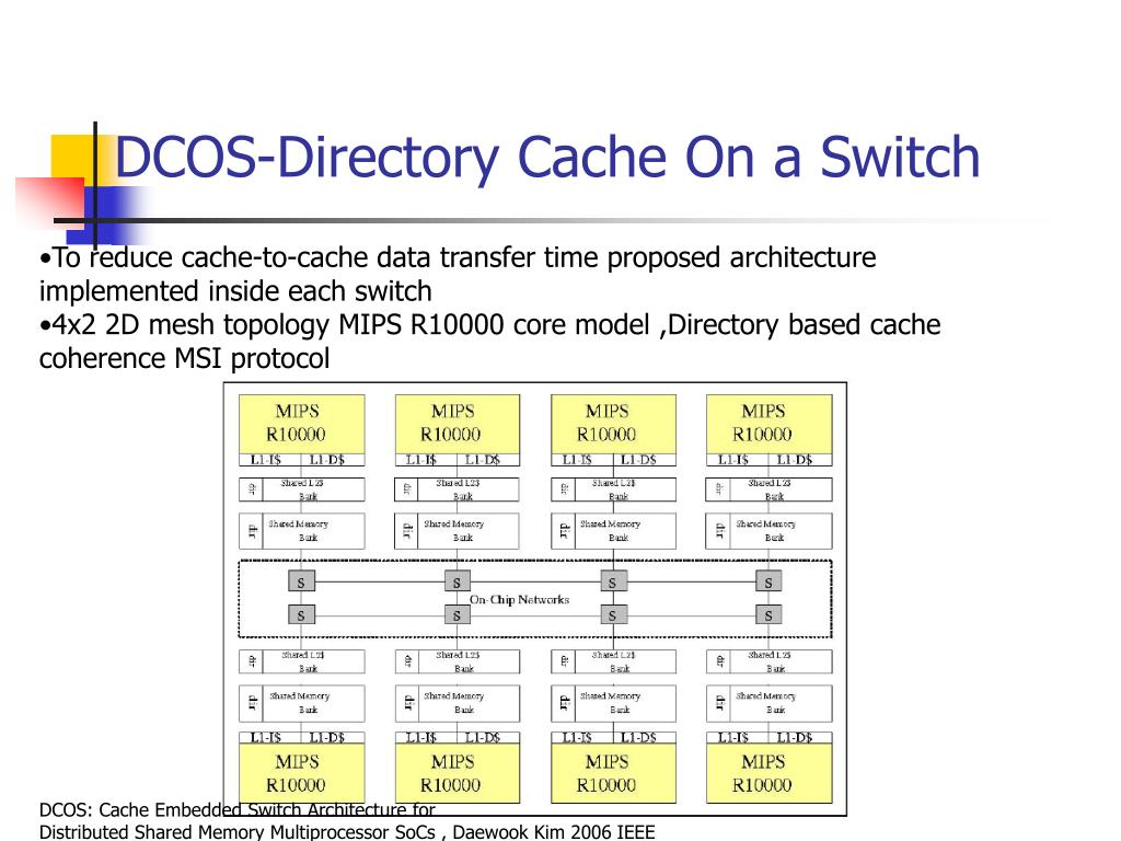 DCOS-Directory Cache On a Switch