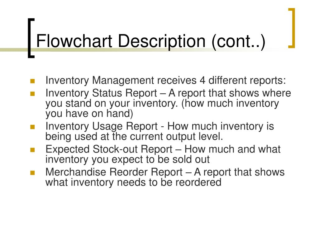 Flowchart Description (cont..)