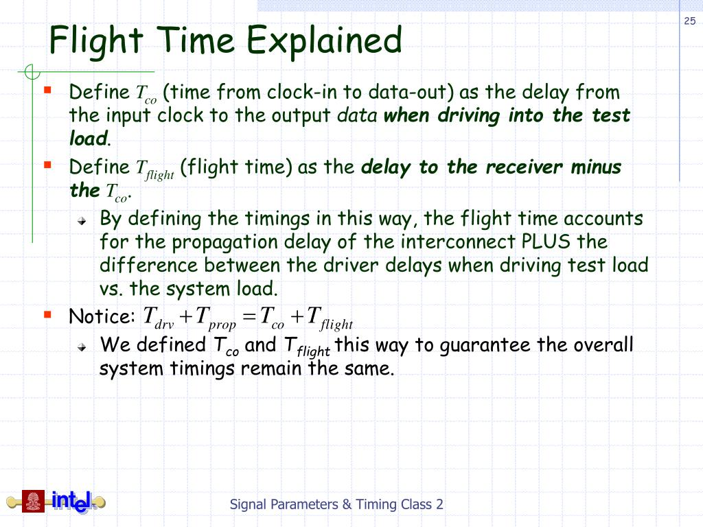 Flight Time Explained