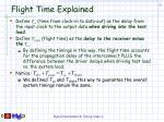 flight time explained