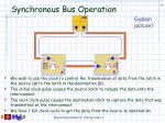 synchronous bus operation