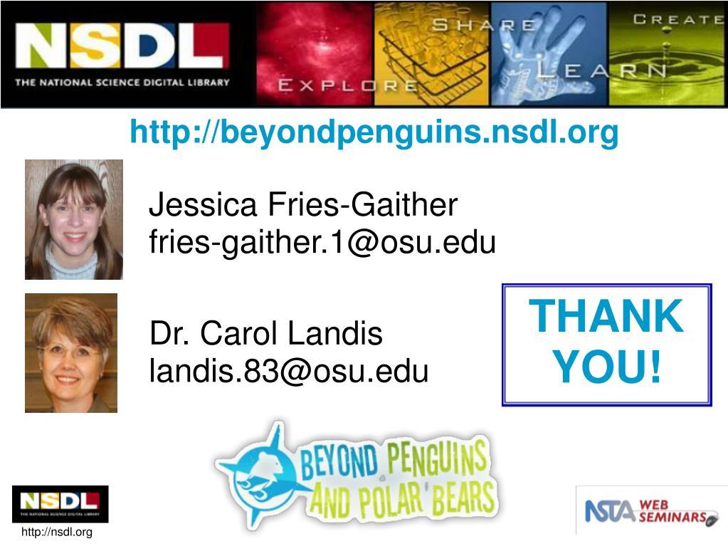 http://beyondpenguins.nsdl.org