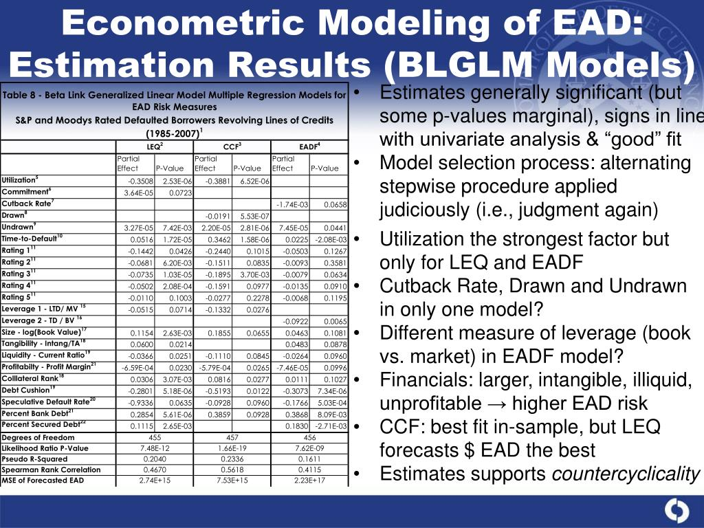 econometric modelling Econometric forecasting models benchmark forecasts successful forecasting requires that: 1 there are regularities to be captured, 2 the regularities are informative about the future, 3 the proposed method captures those regularities, and yet 4.