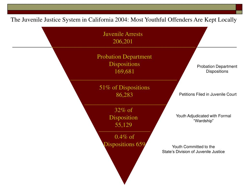 The Juvenile Justice System in California 2004: Most Youthful Offenders Are Kept Locally