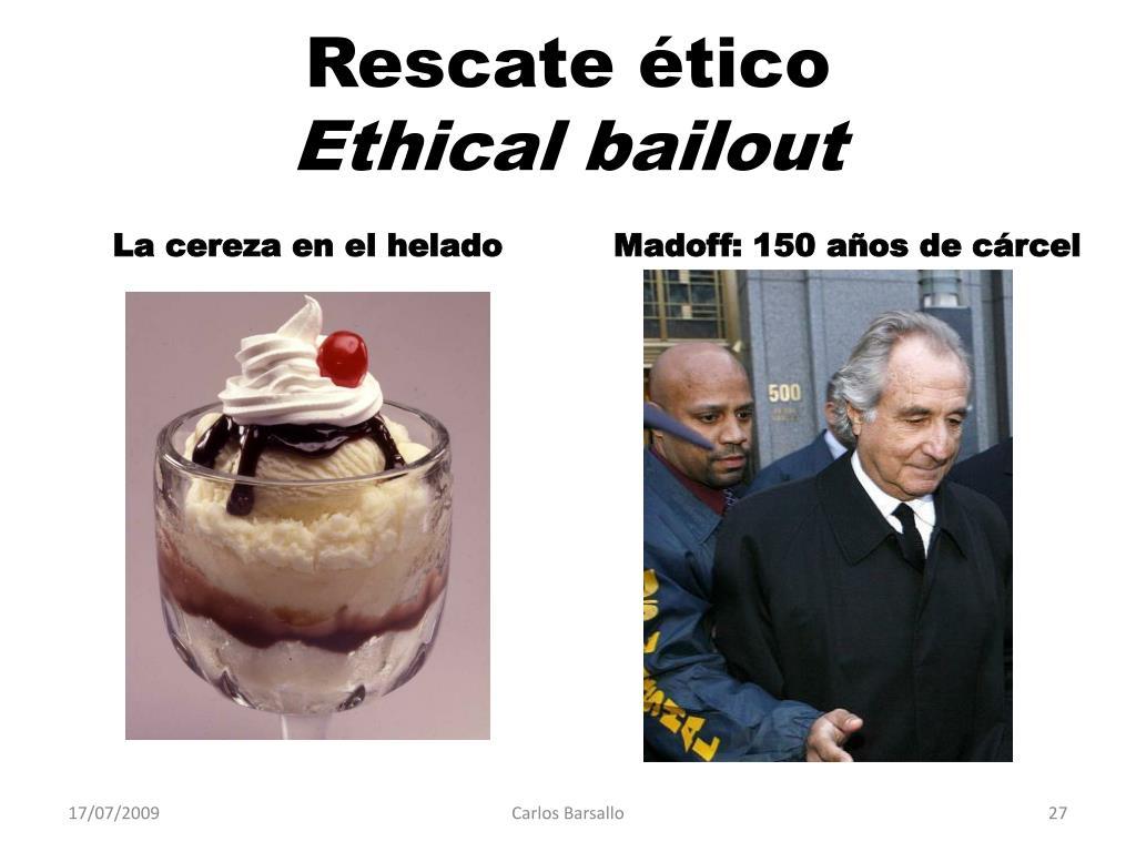 Rescate ético