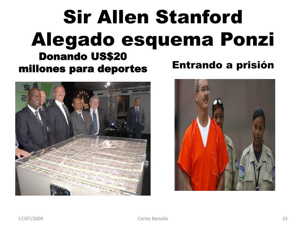 Sir Allen Stanford