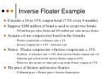 inverse floater example