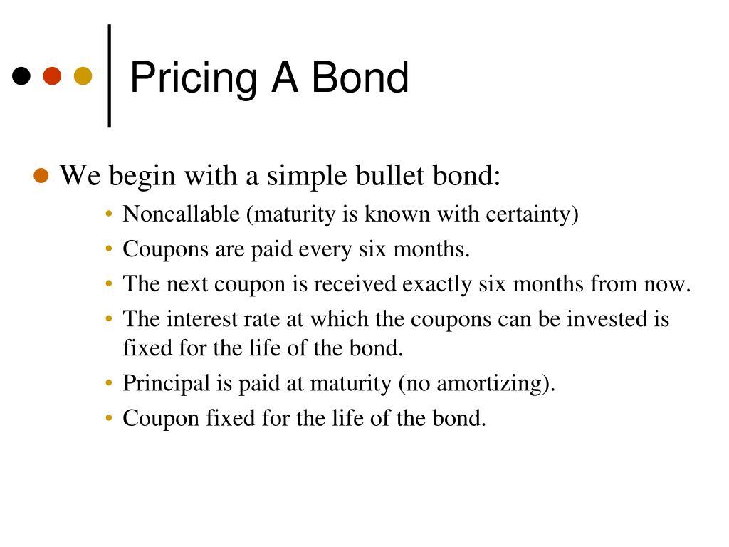 Pricing A Bond