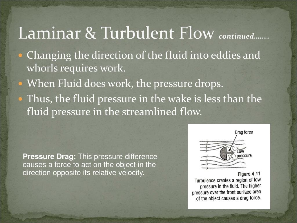 Laminar & Turbulent Flow