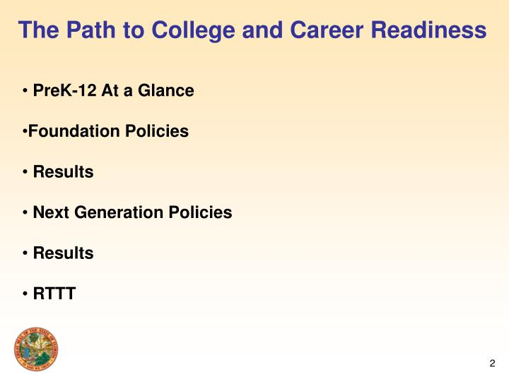 The Path to College and Career Readiness