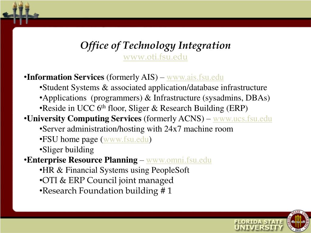 Office of Technology Integration