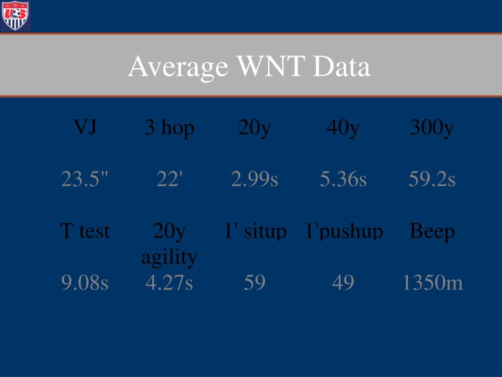 Average WNT Data