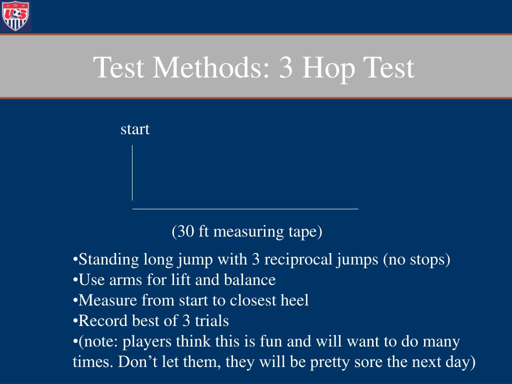 Test Methods: 3 Hop Test
